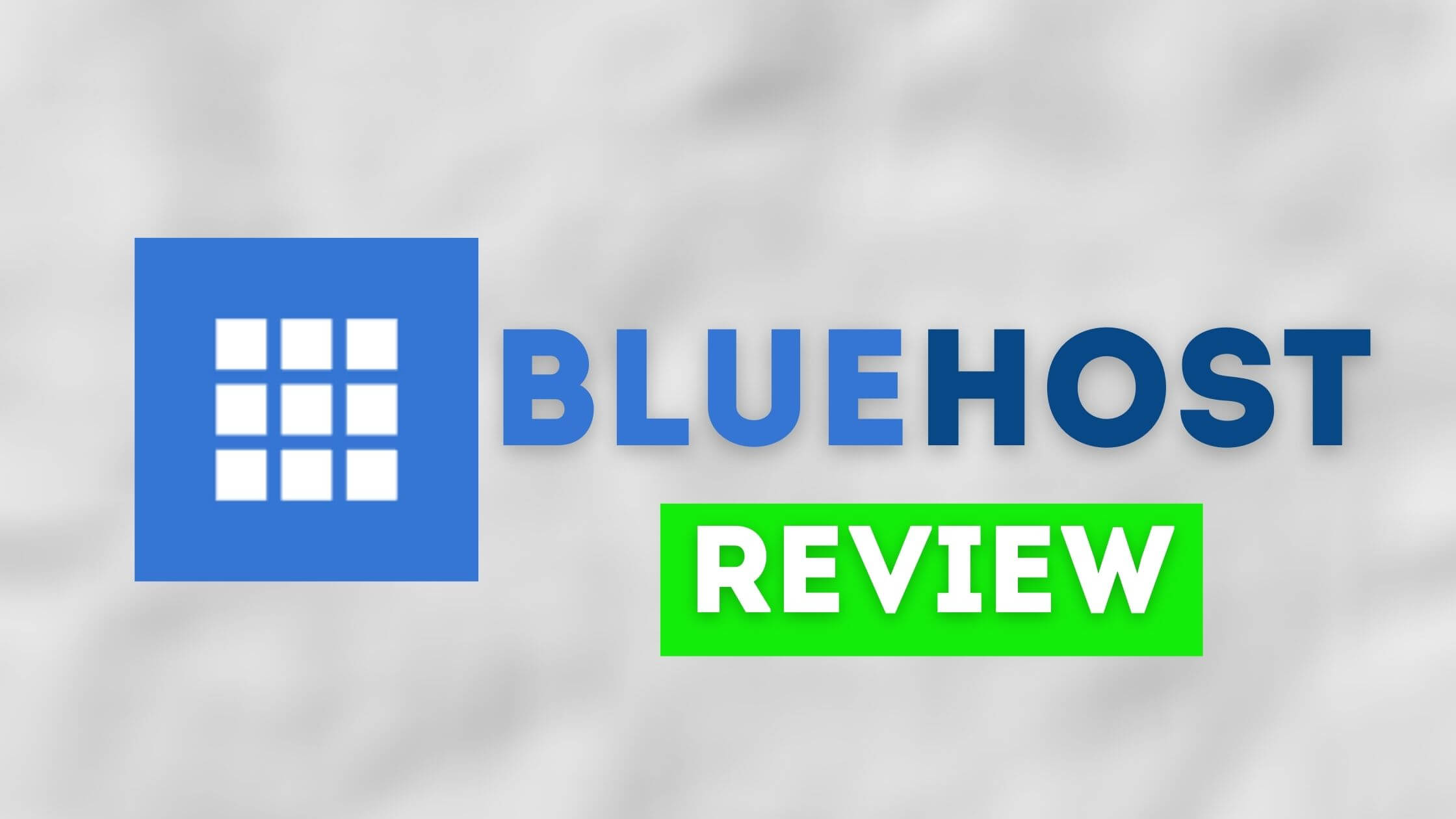 Bluehost review in Hindi India