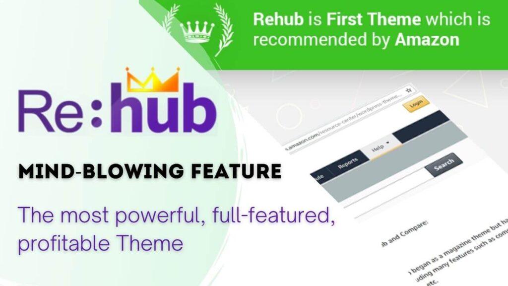5 best wordpress theme for amazon affiliate marketing-Rehub