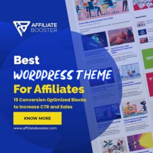 Best wordpress theme for affiliate marketing