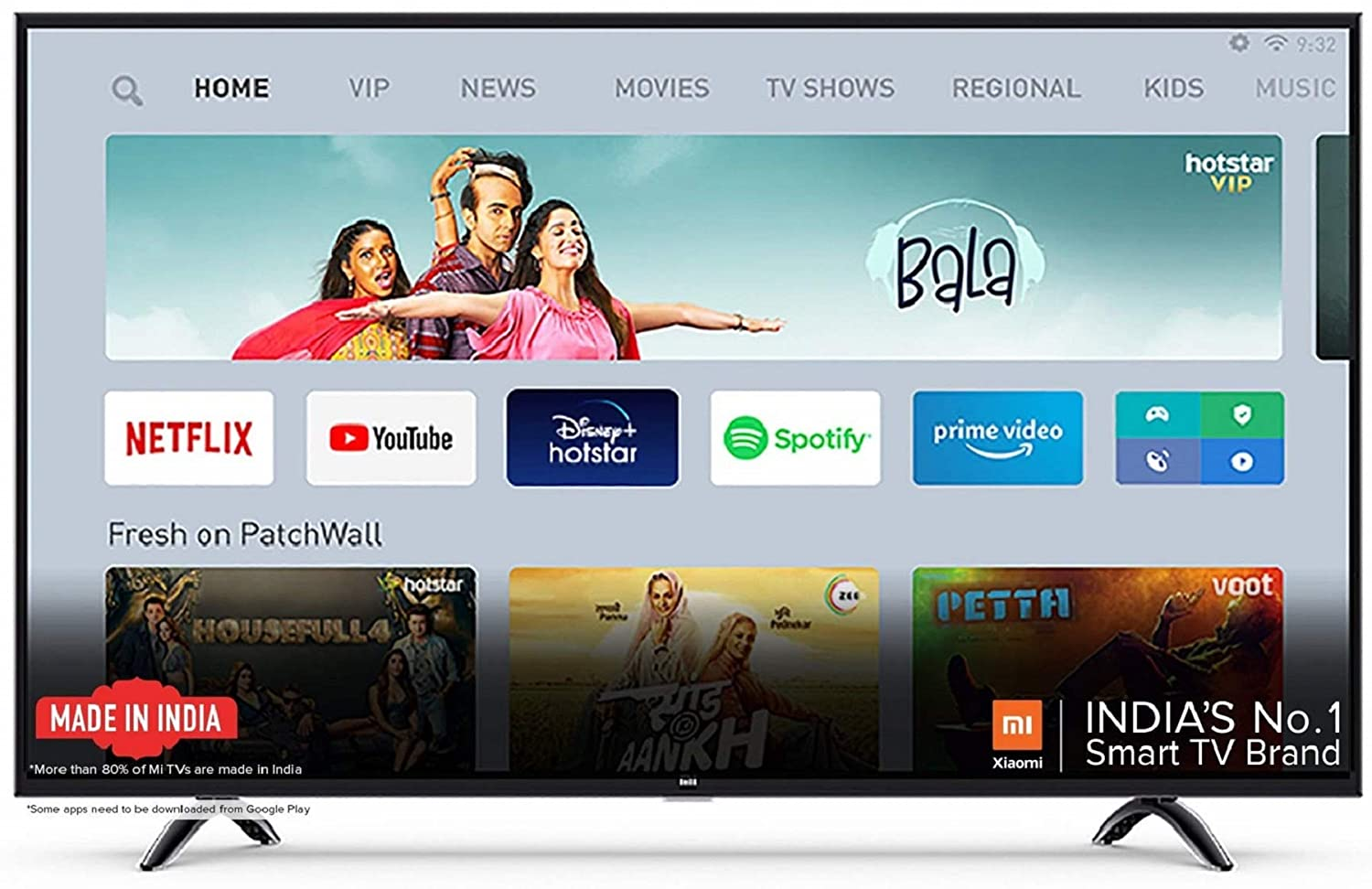 Best Mi TV 4x 50 Inch Ultra HD Android LED