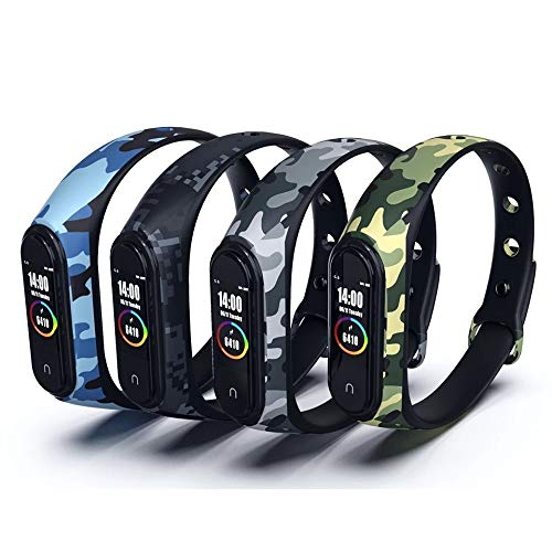 Best iloft Silicone Camouflage Army Style Fitness Band