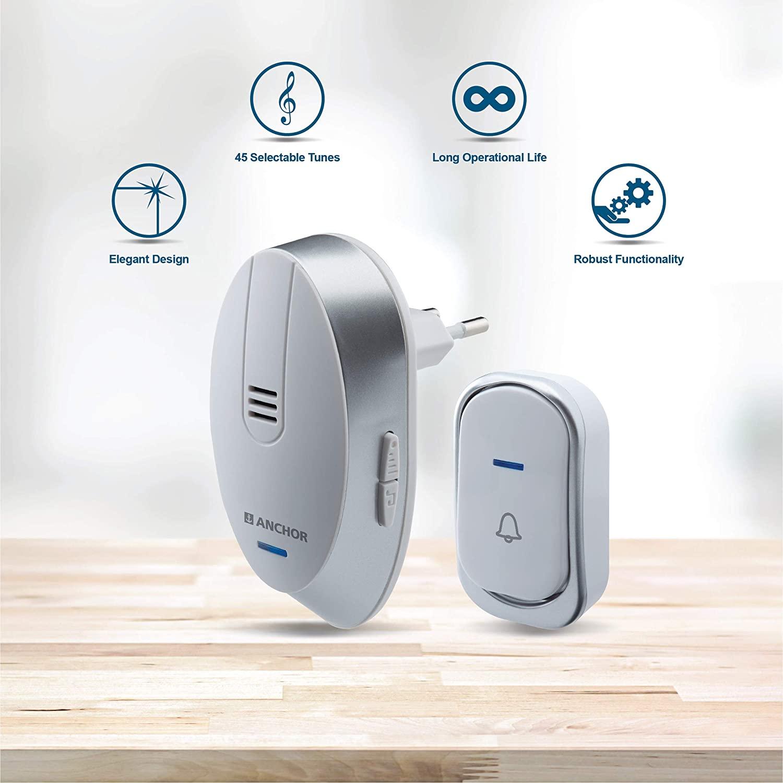 Smart Anchor Best Wireless Doorbell In India