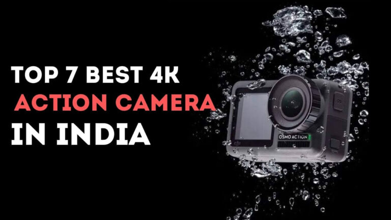 Top 7 BEST 4k action camera in india