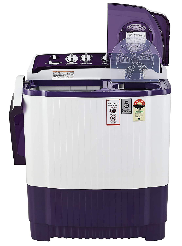 Best LG Washing Machine 8kg 5 Star Semi-Automatic Top Loading