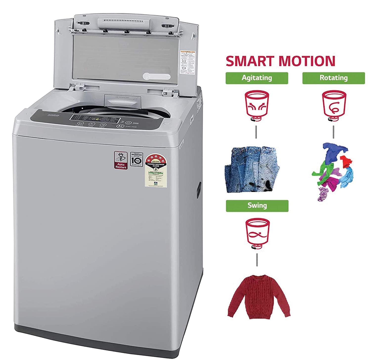 Best LG Washing Machine 6.5 kg Fully Automatic Top Load In India